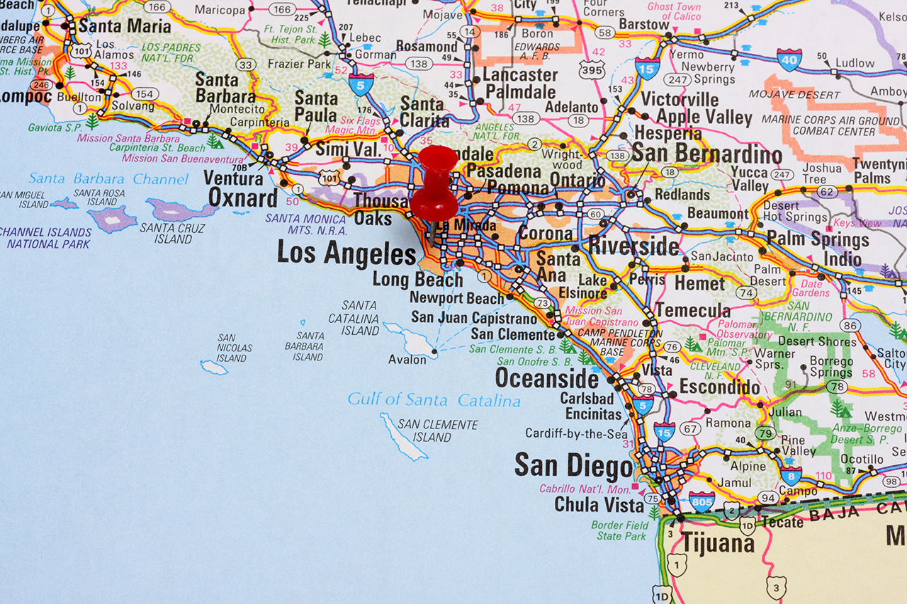 Fireline Broadband Contact Us - Los angeles ventura map